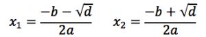 Formel for nulpunkt